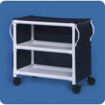 "Innovative Products Unlimited 2 Shelf Linen Cart: 36"" x 20"" Shelves, Replaces MPC200"