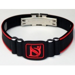 Dr-Ion Resizable Negative Ion Wristband with Clasp: 9 Colors, without Box & Case