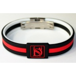 Dr-Ion Resizable Negative Ion Wristband with Clasp of Dual Design: 6 Colors, without Wooden Box & Acrylic Case