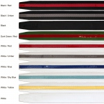 Dr-Ion Negative Ion Sport Belt in Genuine Leather with Buckle: 10 Colors, 3 Buckle Options, One Size