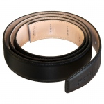 Dr-Ion Negative Ion Dress Belt in Genuine Leather without Buckle: Black, One Size, Type A