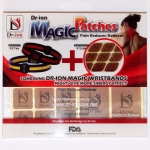 Dr-Ion Negative Ion Magic Patches - Pain Reducer / Reliever: Full Pack