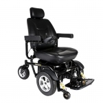 "Drive Medical Trident HD Heavy Duty Power Wheelchair, 24"" Seat"