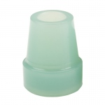 "Drive Medical Glow In The Dark Cane Tip, 3/4"", Blue, Each"