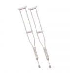Drive Medical Walking Crutches with Underarm Pad and Handgrip, Tall Adult, 1 Pair