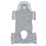 "Drive Medical Patient Lift Sling with Head Support and Commode Opening, 53"" x 30"""