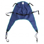 Drive Medical Divided Leg Patient Lift Sling with Headrest, Medium
