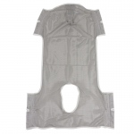 Drive Medical Patient Lift Commode Sling with Head Support, Dacron
