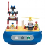 Drive Medical Interactive Nebulizer Building Block Kit, Heliport