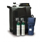 DeVilbiss Healthcare iFill Personal Oxygen Station, Carrying Case, 2 E PD1000 Cylinders