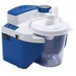 DeVilbiss Healthcare Vacu-Aide QSU Quiet Suction Unit with Internal Filter, Battery, and Carrying Case