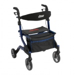 Drive Medical iWalker Euro Style Rollator, Blue