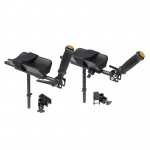 Wenzelite Forearm Platforms for all Wenzelite Safety Rollers and Gait Trainers, 1 Pair