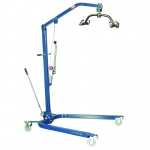 Lumex® Hydraulic Powered Patient lift - 6 point cradle - blue
