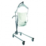 "Hydraulic Powered Patient Lift - 6 point cradle - with 5"" casters"