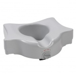 Drive Medical Heavy Duty Locking Raised Toilet Seat, 5""