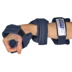 Comfy Splints Adjustable Cone Hand: Pediatric Large, Navy Blue, Headliner