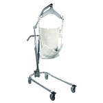 "Hydraulic Powered Patient Lift - 6 point cradle - 3"" casters only"