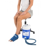 AirCast® CryoCuff® - Medium Foot with gravity feed cooler