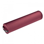 "Fabrication Enterprises Jumbo Full Round Bolster: Burgundy, 25.5"" L x 8.5"" Dia"