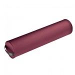 "Fabrication Enterprises Full Round Bolster: Burgundy, Full Round Bolster, 25"" L x 4.5"" Dia"