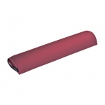 "Fabrication Enterprises Half Round Bolster: Burgundy, 24.5"" L x 6"" Dia"