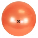 "CanDo® Inflatable Exercise Ball - Orange - 22"" (55 cm)"