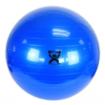 "CanDo® Inflatable Exercise Ball - Blue - 34"" (85 cm)"