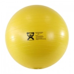 "CanDo® Inflatable Exercise Ball - Extra Thick - Yellow - 18"" (45 cm)"
