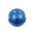 "CanDo® Inflatable Exercise Ball - Extra Thick - Blue - 34"" (85 cm)"