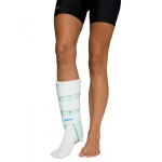 Air Stirrup® Leg Brace with Anterior panel, small, left