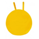 "CanDo® Inflatable Exercise Jump Ball - Yellow - 16"" (40 cm)"