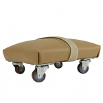 Exercise Skate - Foam Padded and Upholstered - Small - 6 x 6 inch