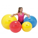 "PhysioGymnic™ Inflatable Exercise Ball - Yellow - 18"" (45 cm)"