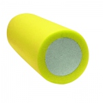 "CanDo® 2-Layer Round Foam Roller - 6"" x 30"" - Yellow - X-Soft"