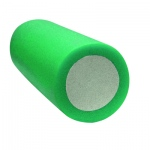 "CanDo® 2-Layer Round Foam Roller - 6"" x 15"" - Green - Medium"
