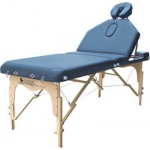 "Massage Table with adjustable back, 73"" L x 30"" W x 24"" - 32"" H"