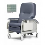 Lumex Deluxe Clinical Care Recliner, Invision Tide