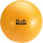 BodySport Fitness Ball, 65 cm, Yellow