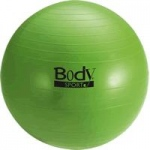 BodySport Fitness Ball with Slow Air Release, 55 cm, Green