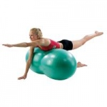 Aeromat Peanut Shaped Exercise Ball, Blue, 50cm