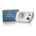 A&D Medical One-Step Memory Automatic Blood Pressure Monitor with AC Adapter, Medium Cuff