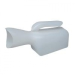 Mabis Female Urinal with Easy Grip Contoured Handle