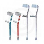 Drive Lightweight Walking Forearm Crutches, Tall Adult