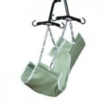 Lumex 2-Point Slings, without Commode Opening, Canvas Fabric