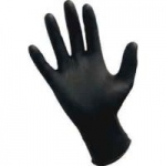 Dynarex Black Nitrile Exam Glove, (non-latex) Powder Free XXL, Black 10/100/Cs