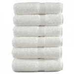 "Boltex Terry Towels, White, 16"" x 27"", 12/pk"