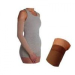 Juzo Circular Knit Max Arm Sleeve with Full Silicone Border, Size 1 Regular, Beige