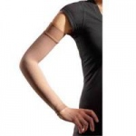 Juzo Dynamic Arm Sleeve with Maximum Silicone Border, Size 2 Regular, Beige