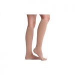 Juzo Dynamic Varin Knee High Stockings with Silicone Border, Size 3 Short, Beige, Pair